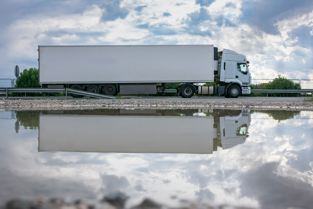temperature controlled semi truck